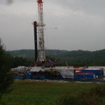 Natural Gas drill site in Dimock, PA